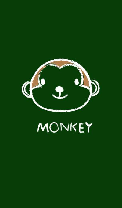 Simple Monkey on a Blackboard theme(jp)