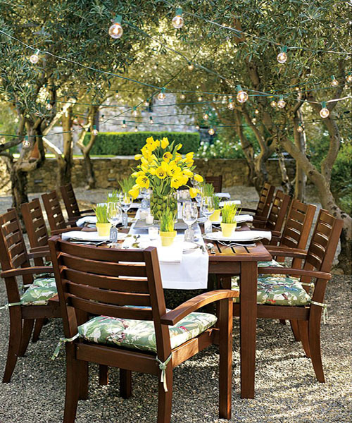 Potery Barn Furniture: Dining Al Fresco, My New Tabletop Has Arrived And A Winner