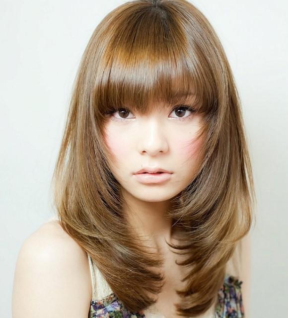 10 Frisuren Halblanges Haar Rundes Gesicht Neo Frisuren