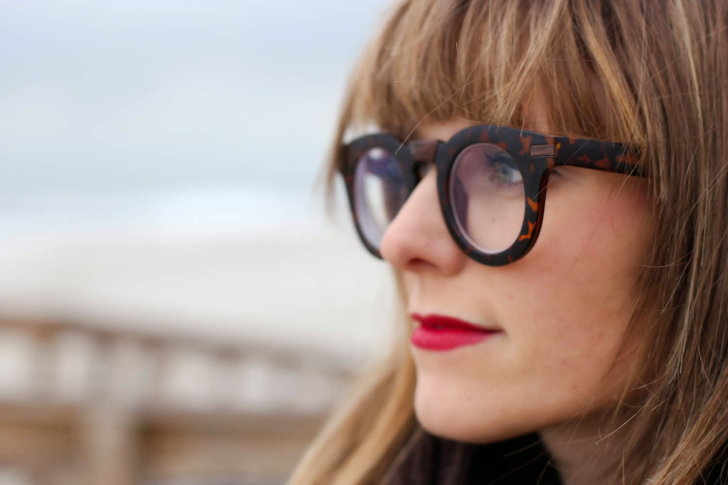 polette oversized glasses