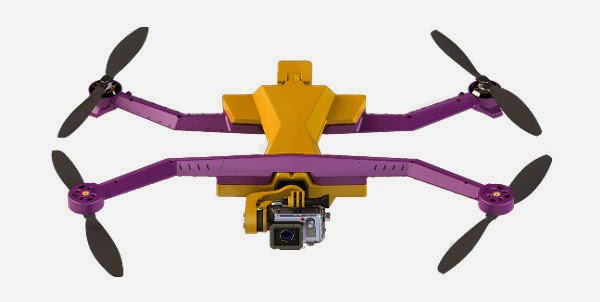 AirDog: World's First Auto-follow GoPro Video Drone for sports enthusiasts, outdoor fans and indie moviemakers