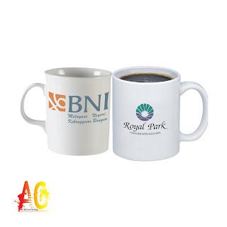 Tempat Percetakan Souvenir Merchandise Sablon Mug gelas cangkir Promosi Murah Di Bengkulu