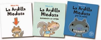 """coleccion Libros infantiles """"la ardilla miedosa"""""""