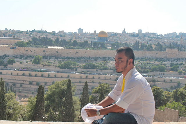 Marky Ramone Go in Old Jerusalem