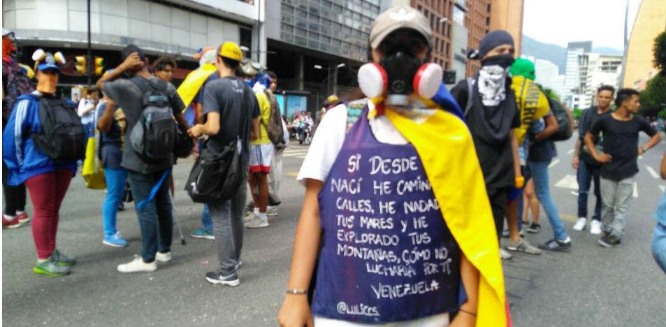 La llamada resistencia juvenil volverá a enfrentarse contra la dictadura de Maduro