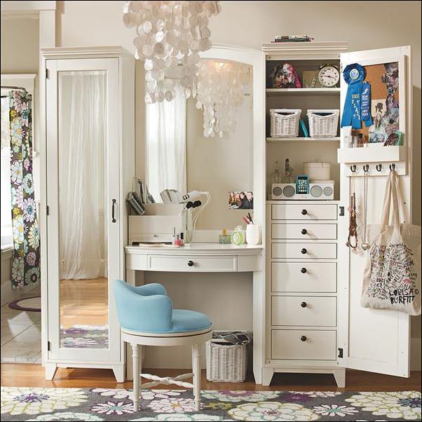 Teen Girl Storage Ideas ~ Room Design Ideas