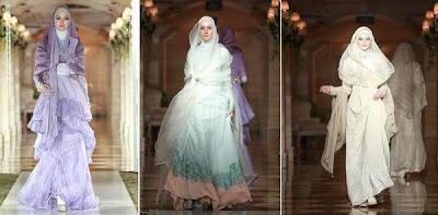 baju pengantin muslimah 2015