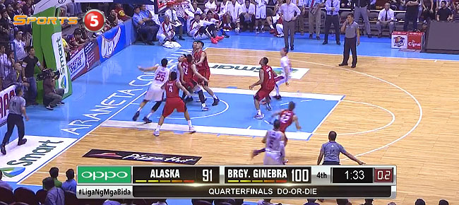 HIGHLIGHTS: Ginebra vs. Alaska (VIDEO) February 7