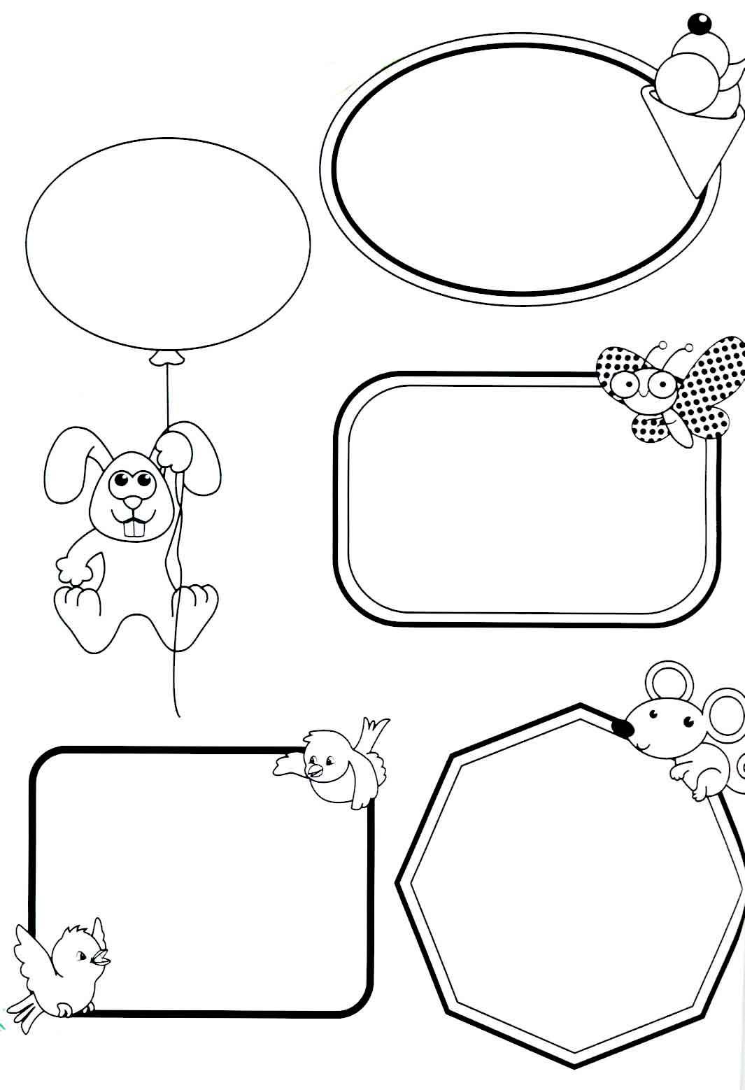 Crachas Infantis Para Imprimir E Usar Na Escola Compartilhando