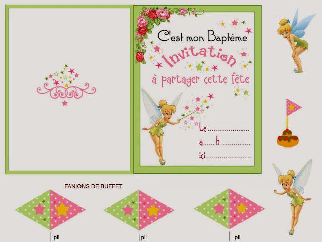 Kit de Campanilla o Tinkerbell para Imprimir Gratis.   Ideas y ...