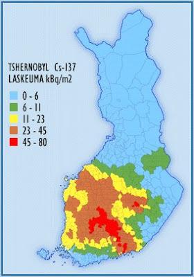 Tsernobyl Laskeuma Suomi