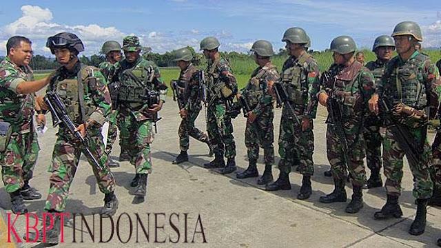 Markas KKB Berhasil Di Lacak Oleh TNI Papua