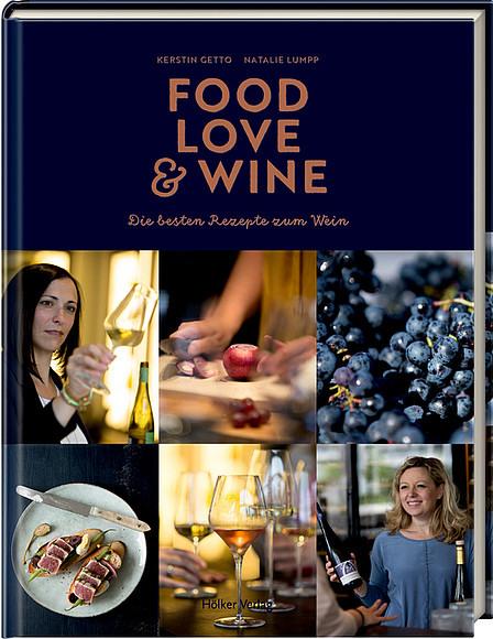 Buchcover Food, Love & Wein