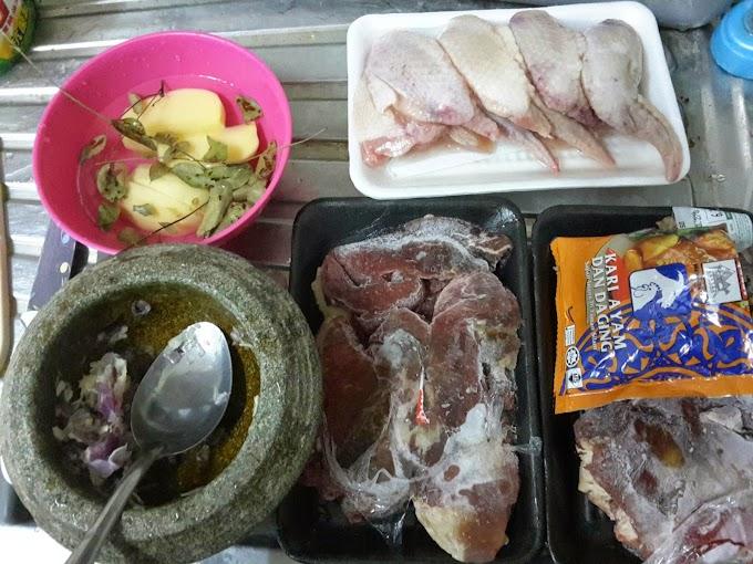 Resipi Untuk 100 Orang Daging Masak Gulai Atau Berkuah