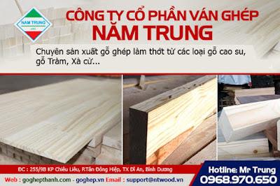 gỗ ghép làm thớt