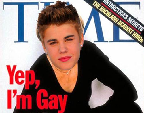 Justin bieber declara ser homosexual