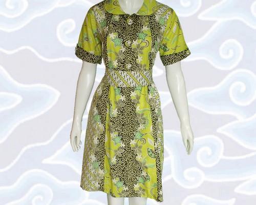 Model  Baju  Terusan Wanita Celana Panjan Modern Brokat