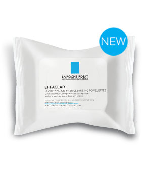 Review la roche posay effaclar clarifying oil free cleansing these new cleansing towelettes from la roche posay effaclar clarifying oil free cleansing towelettes cleanse away oil and pore clogging impurities malvernweather Image collections