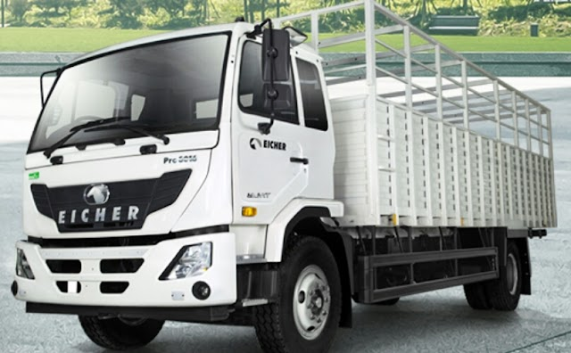 Eicher pro 3016 truck now come automatic transmission.