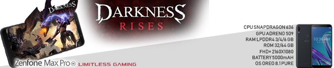 "Game Experience Smartphone "" Limitless Gaming "" Darkness Rises"
