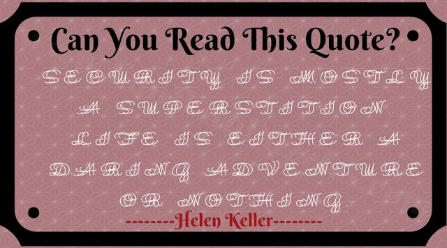 Can you read this double vision quote?