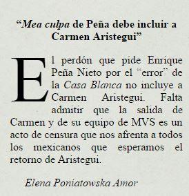 Falta que Peña Nieto admita acto de censura: Elena Poniatowska