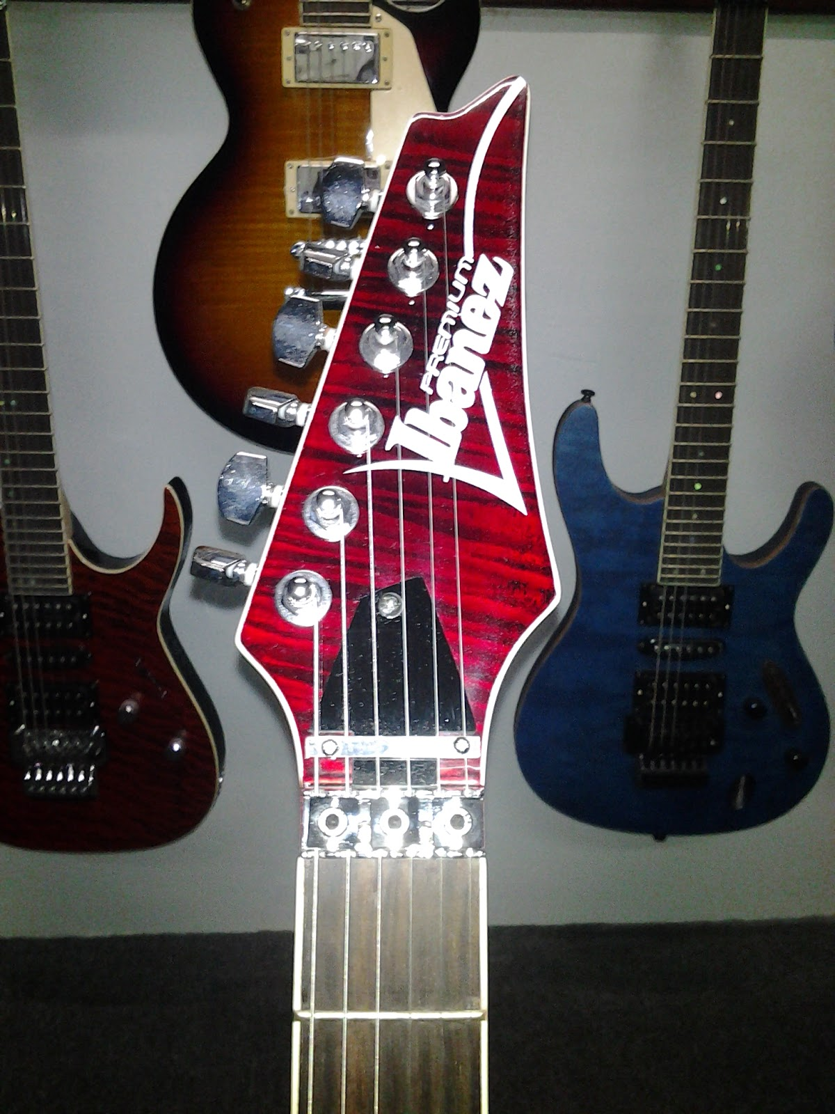 Legacy Studio: Ibanez RG Premium Electric Guitar - Trans Red