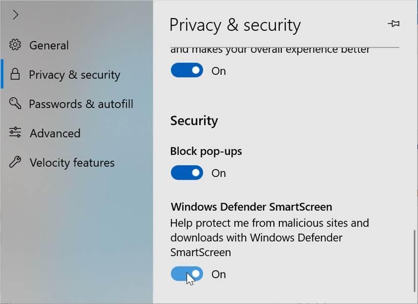 Microsoft Sedang Membuat Pengaturan Baru Untuk Browser Edge