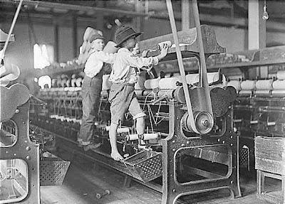 Revoluçao industrial, trabalho infantil