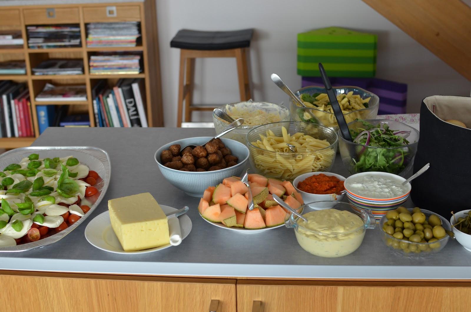 40 års fest mat Elizabet's Hood: maj 2012 40 års fest mat
