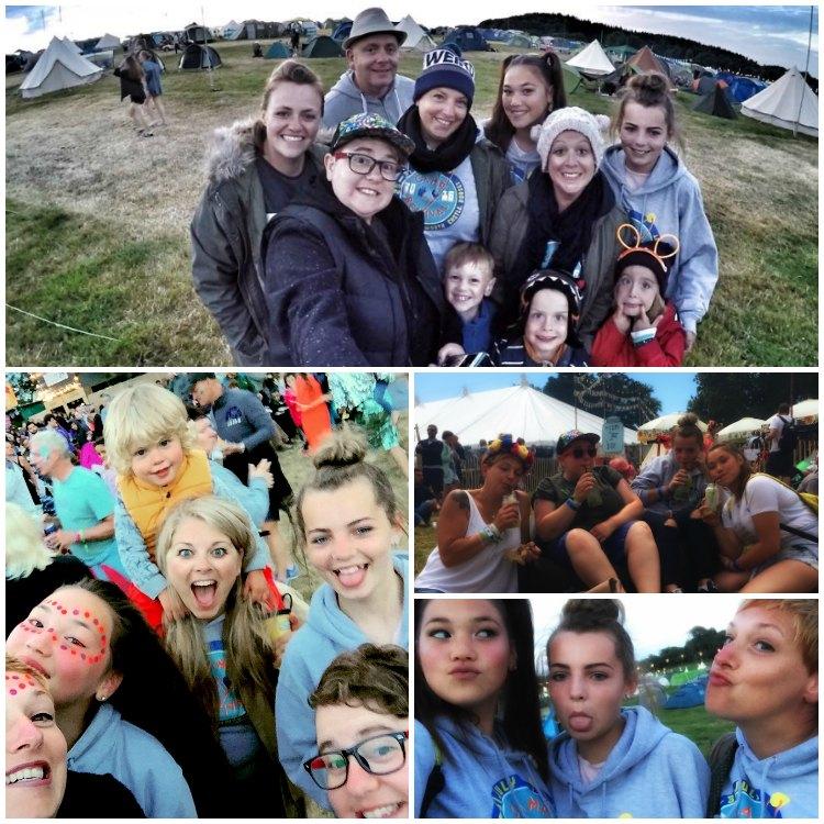Camp Bestival crew