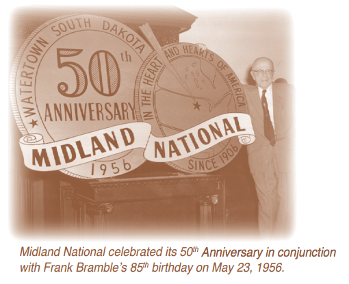 Frank Bramble Midland National 50 years