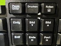 Tasten über Nummernblock: Logitech K200 Tastatur USB schnurgebunden schwarz OEM (deutsches Tastaturlayout, QWERTZ)