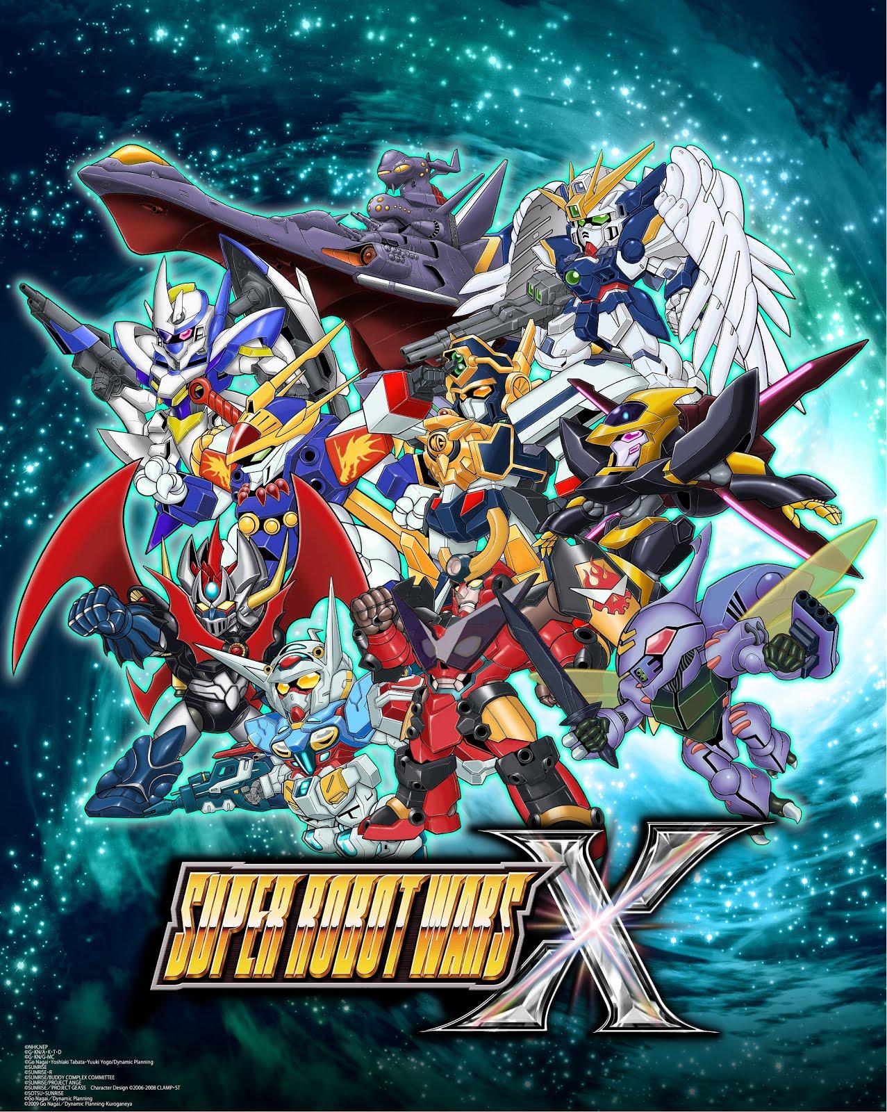 New Character Announced For Super Robot Wars X, Original mech
