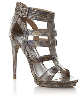 Pewter Gladiator Shoes, Gladiator Shoes, High heel shoes, Going out shoes