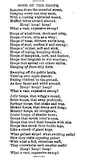 """Song of the Crinoline"" 1857 Harper's New Monthly Magazine"