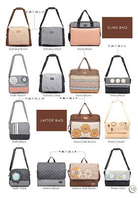 tas sling bag, sling bag maika etnik, laptop bag maika, tas lucu bogor