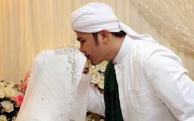 wedding Adam AF dan Fiza Elite