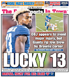Odell gets back page