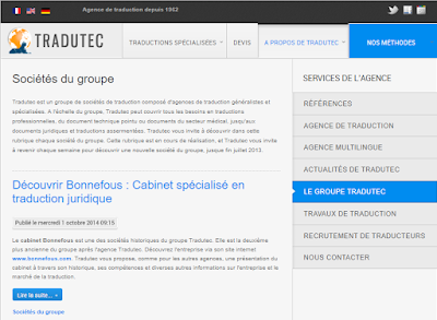 Critique du site TRADUTEC.COM