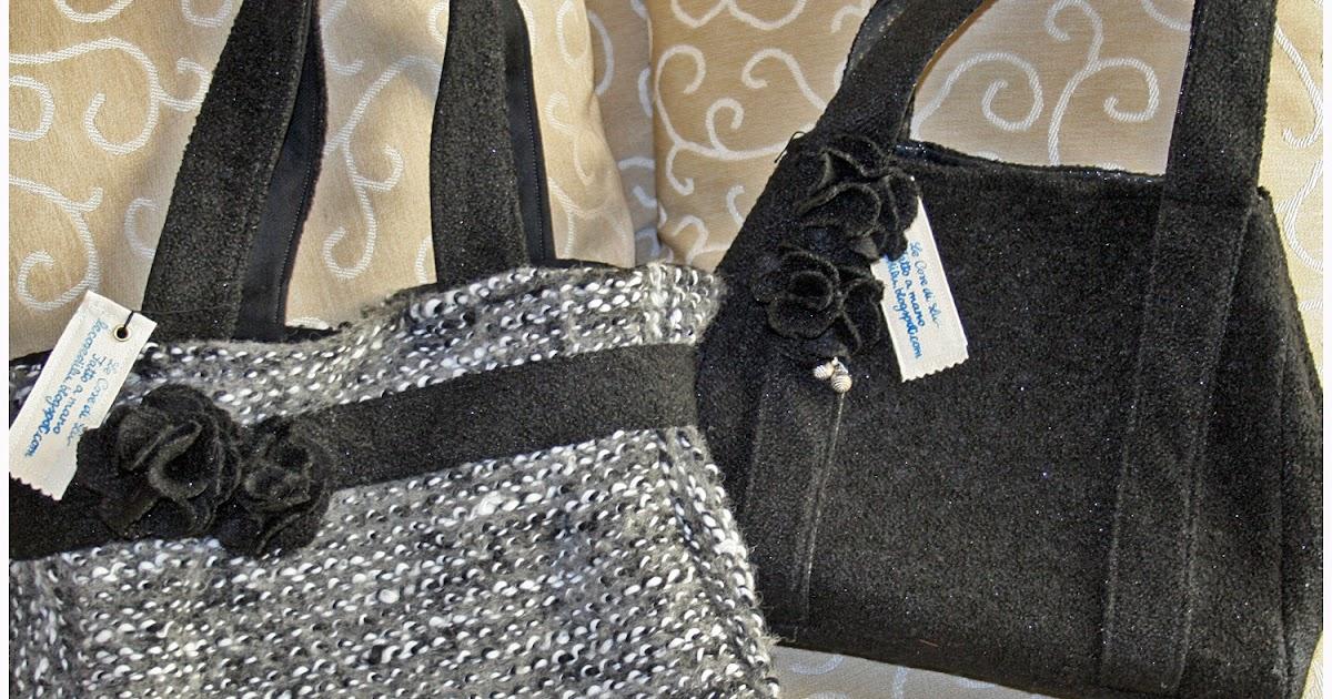 Top Speciale Moda Donna primavera estate: Borse in maglia fatte a mano RP43
