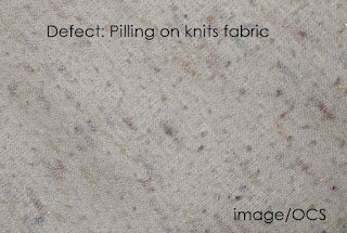 pilling in fabric