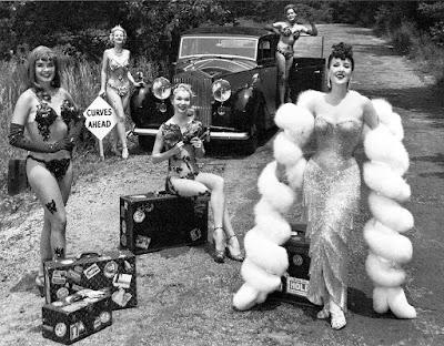 Gypsy Rose Lee,Vintage Louis Vuitton luggage,
