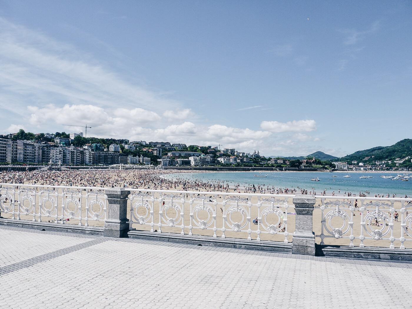 Promenade von San Sebastián