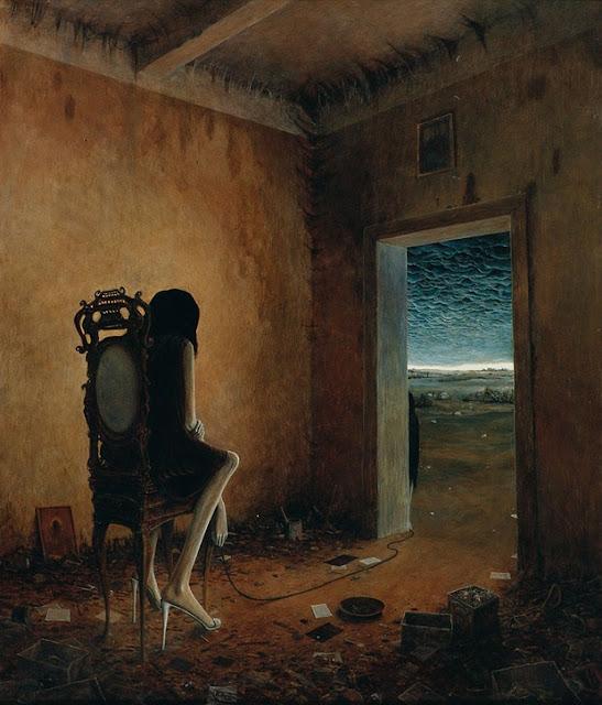 Zdzislaw Beksinski, Arte, Surrealismo, Lisergia