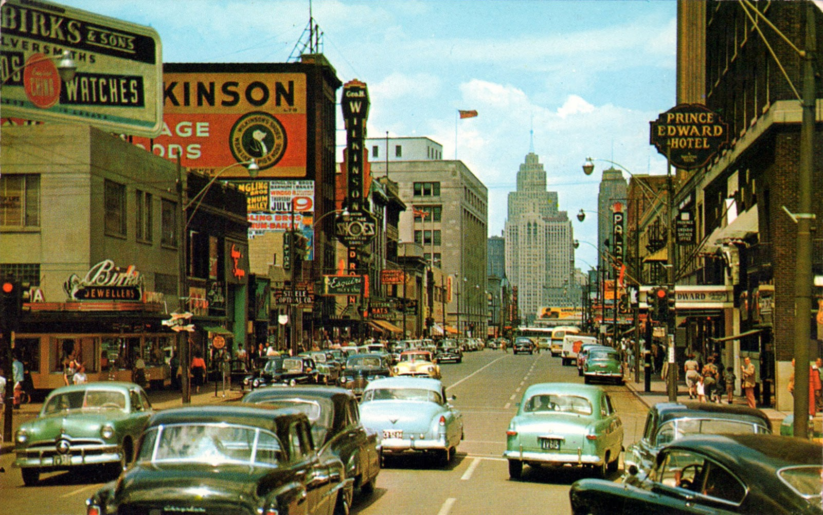 transpress nz: Windsor, Ontario, then and now