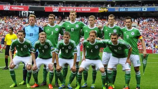 Camisa Verde Alemanha