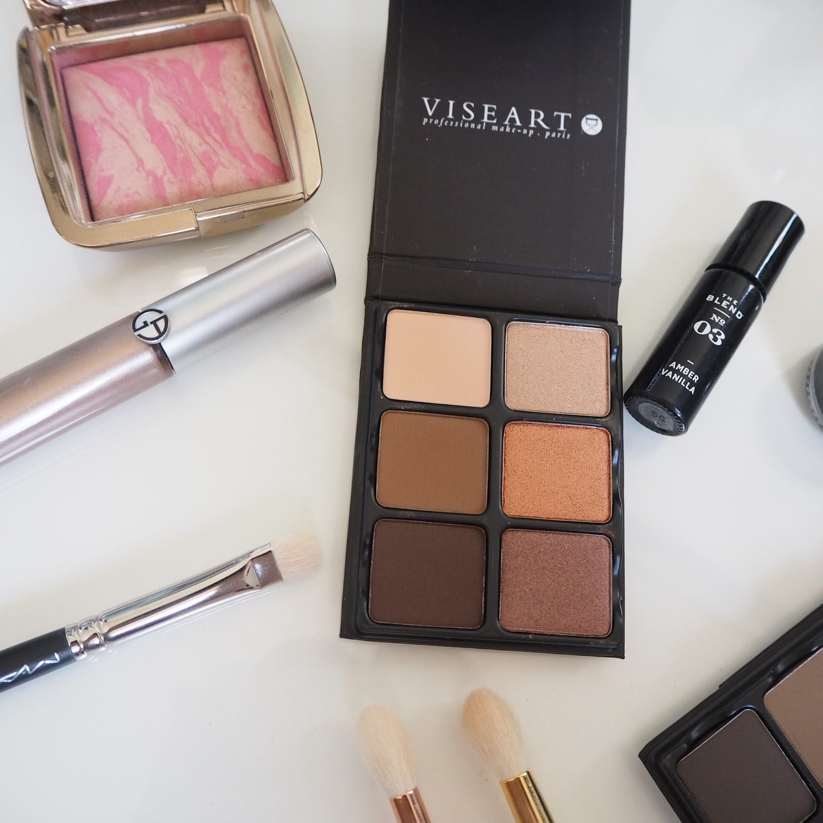 Viseart Theory Palettes in Cashmere and Minx