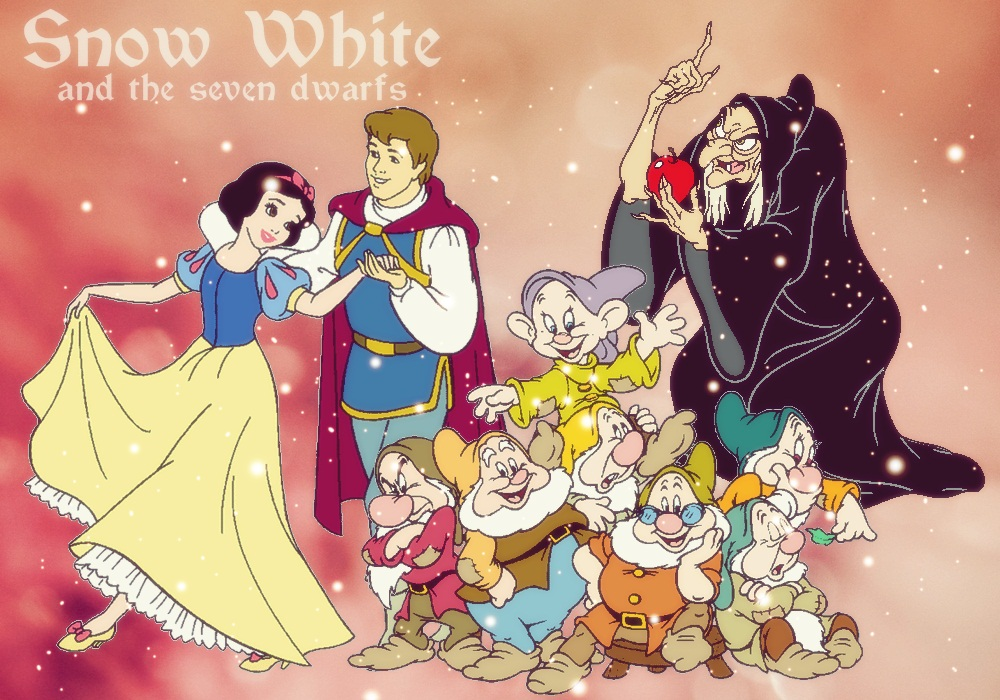 snow white and the seven dwarfs - 1000×700