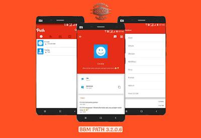 Download BBM Mod Tema Path Terbaru Versi 3.2.0.6 Apk